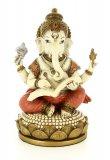 Statua di Ganesha che scrive il Mahabharata
