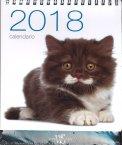 Gatti - Calendario da Tavolo 2018