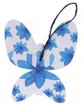 Gea  la Farfalla: Biglietto d'Auguri + Semi di Fiori — Cartolina