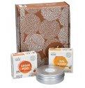 Gift Box CO.SO Box Hair: Shampoo Solido, Balsamo Solido e Barattolo Porta Sapone