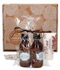 Gift Box Mani e Vento Freddo: Oleolito di Calendula + Olio di Ricino + Crema mani al Burro Chiuri + Ciotola