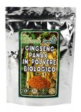Ginseng Panax in Polvere Biologico