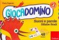 Giocadomino - Suoni e Parole - Sillabe Finali - Cofanetto