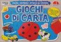 Giochi di Carta - Colora, Costruisci, Attacca gli Stickers. Vol. 1  - Libro