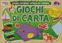Giochi di Carta - Colora, Costruisci, Attacca gli Stickers. Vol. 2  - Libro