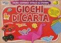 Giochi di Carta - Colora, Costruisci, Attacca gli Stickers. Vol. 3  - Libro