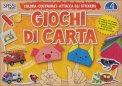Giochi di Carta - Colora, Costruisci, Attacca gli Stickers  Vol. 4  - Libro