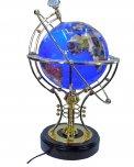 Globo Mappamondo Energizzante Lapis Illuminato - 22 Cm