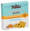 """Golden Yooga Block - Tavoletta Dolce """"Armonia"""" con Curcuma e Scorza di Limone"""