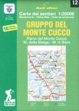 Gruppo del Monte Cucco - Carta dei Sentieri n. 12 — Libro