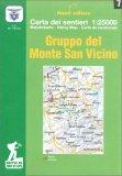 Gruppo del Monte San Vicino - Carta dei Sentieri n. 7 — Libro