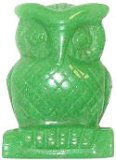 Gufo in Avventurina Verde