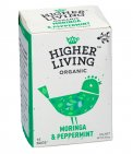 Higher Living Organic - Infuso Moringa & Peppermint