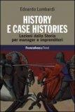 History e Case Histories - Libro