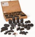 Hot Stone Massage - Set Deluxe con 60 Pietre Laviche