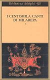I Centomila Canti di Milarepa Vol. 1  - Libro