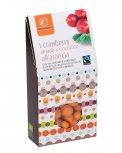 Mirtilli Rossi ricoperti di Cioccolato Bianco all'Arancia