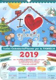 I Love My Family - Calendario 2019