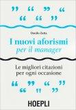 I Nuovi Aforismi per il Manager — Libro
