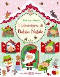 Il Laboratorio di Babbo Natale - Libro + Adesivi