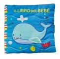 Il Libro del Bebè - Balena - Libro di Stoffa