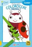 Il Mio Primo Colorocchi degli Animali - Azzurro - Libro