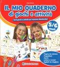 Il Mio Quaderno di Giochi e Attività - 5/6 Anni — Libro