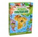 Il Mondo dei Dinosauri + Libro + Puzzle - Cofanetto