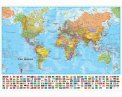 Il Mondo - Planisfero Politico - 120x90 cm