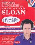 Impara l'Inglese con John Peter Sloan - Audiocorso - Step 2 - 6 Cd + Libro