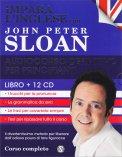Impara l'Inglese con John Peter Sloan - Audiocorso Definitivo per Principianti - Libro + 12 CD