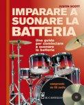 Imparare a Suonare la Batteria + CD Audio - Libro