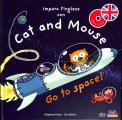 Imparo l'Inglese con Cat and Mouse - Go to Space — Libro