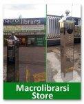 Inaugurazione della colonnina  di ricarica per veicoli elettrici  del Macrolibrarsi Store