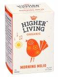 Infuso Morning Mojo - Tè verde, Bucce di cacao, Caffè verde e Ginseng