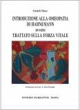 Introduzione alla Omeopatia di Hahnemann