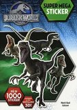Jurassic World - Super Mega Sticker - Libro