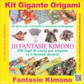 Kit Gigante Origami - 10 Fantasie Kimono