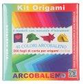 Kit Origami - 40 Colori Arcobaleno