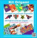 Kit Origami - Fantasie Giapponesi - Libro