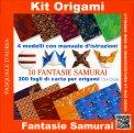 Kit Origami Fantasie Samurai