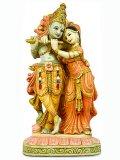 Statuetta Krishna e Radha - 12619