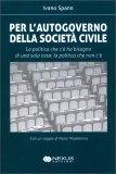L'Autogoverno della Società Civile — Libro