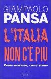 L'Italia Non C'è Più - Libro