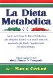 La Dieta Metabolica Italiana  - Libro