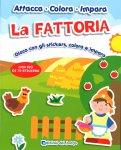 La Fattoria - Attacca, Colora, Impara - Libro