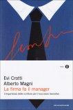 La Firma fa il Manager  - Libro