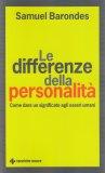 Le Differenze della Personalità - Libro