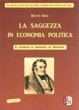 La Saggezza in Economia Politica — Libro