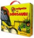 La Valigetta dei Dinosauri con carte e libro illustrato